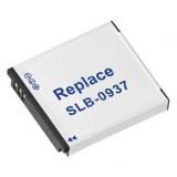 Camera accu SLB-0937 voor Samsung fotocamera