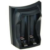 Frontje voor dubbellader - voor AA en AAA batterijen