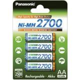 4 x AA Panasonic batterijen - speciaal voor flitsers en camera's