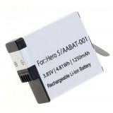 Camera accu AABAT-001 voor GoPro Hero5, Hero6, Hero7
